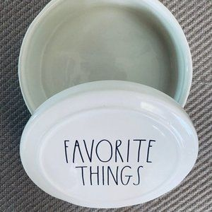 rae dunn Accents - RAE DUNN Favorite Things Trinket Box